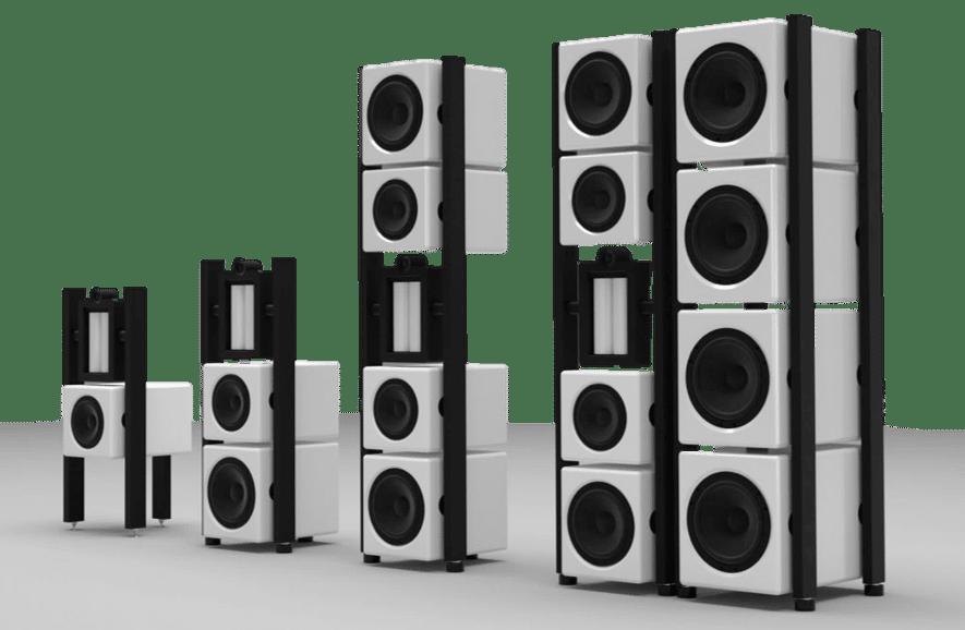 familia AudioNec EVO