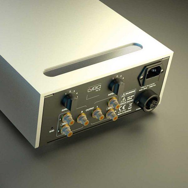 Preamplificador Fono Lyric-Audio LYRIC PS 10 MM/MC